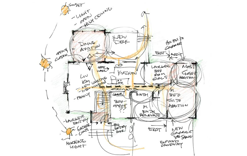 Space Planning Sketch image